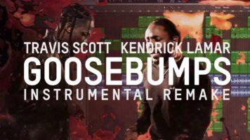 travis scott ft kendrick lamar g - Travis Scott ft. Kendrick Lamar - goosebumps (Remake)