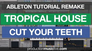 Tutorial Tropical House KYGO Remake Cut Your Teeth Ableton Live 9 Sound design Cover Thomas Jack