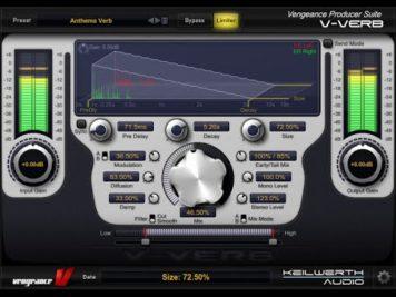 vengeance producer suite essenti 12 - Vengeance Producer Suite - Essential Effects Bundle 2 - VPS V-Verb