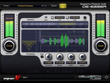 vengeance producer suite essenti 4 - Vengeance Producer Suite - Essential Effects Bundle 2 - VPS De-Esser