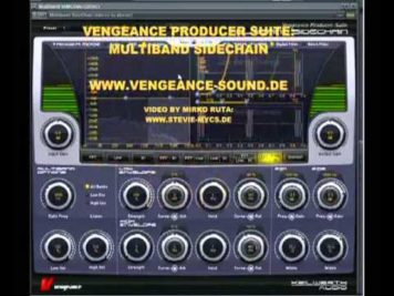 Vengeance Producer Suite – Example: Pad with split frequency sweep example