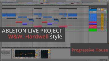 ww hardwell live the night remak - W&W, Hardwell – Live The Night Remake & Ableton Live Project