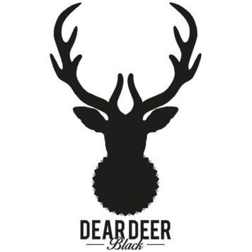 Dear Deer Black - Techno